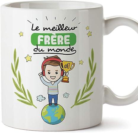 valeur formidable meilleur économiser jusqu'à 60% Mugffins Frère Mug/Tasse Frère du Monde - Tasse Originale/Cadeau  Anniversaire. Céramique 350 ML