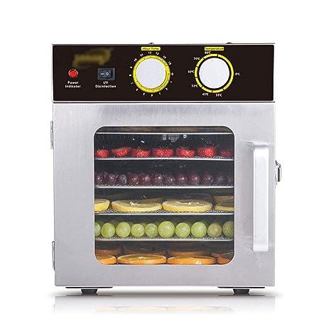 ZYABCDG Máquina de Frutas secas de Acero Inoxidable de 6 ...