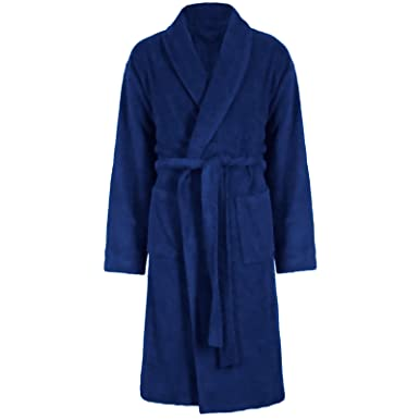 LUXURY EGYPTIAN COTTON TOWELING BATH ROBE DRESSING GOWN VELOUR TOWEL ...
