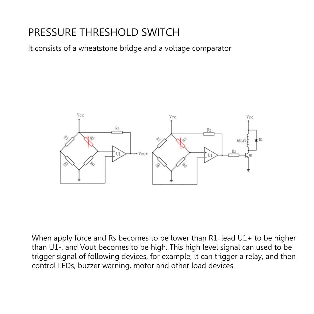 ZChun RP-C18.3-LT Capteur de pression flexible intelligent 20 g 6 kg