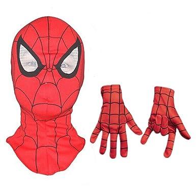 Amazon.com: Máscara de Spiderman para adultos y niños ...