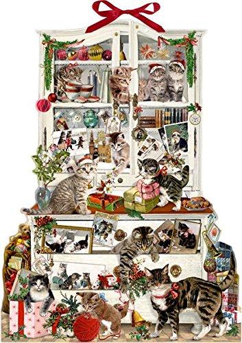 Zettelkalender - Katzen im Advent Barbara Behr Coppenrath F Advent / Geschenkband Weihnachten