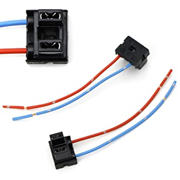 Amazon.com: iJDMTOY (2) OEM H7 Adapters Wiring Harness ...