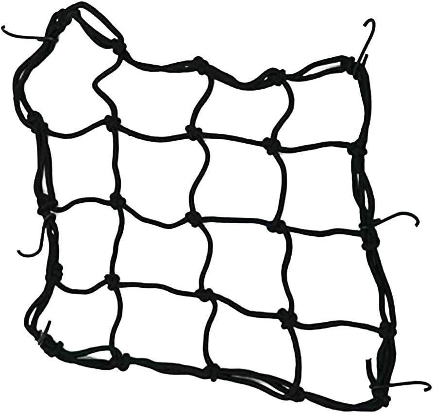 Motorrad-Sturzhelm-Ladung Net Mountainbike Helmhalter Netz Gep/äck 6 Haken Gep/äcknetz Helmhalter Paketladenetz Laderaumabdeckung Cord Web