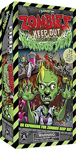 Night of The Noxious Dead Board Game Lion Rampant Imports Ltd PIP60010 Privateer Press Zombies Keep Out