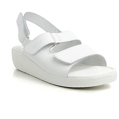 Batz FC02 Hochwertigem Komfortschuhe Lederschuhe Pantolette Sandalette Damen