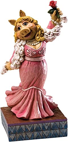 Enesco Disney Traditions Designed by Jim Shore Miss Piggy The Muppet Show Figurine 7.5 in