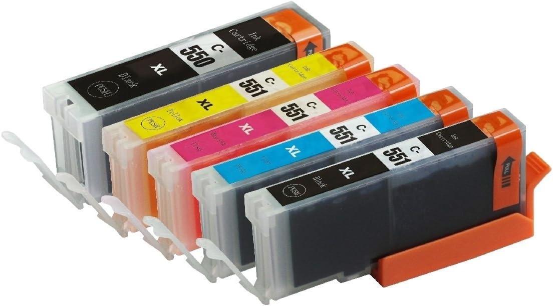 Biggest Discount - Cartuchos de tinta compatibles Canon CLI551 y ...