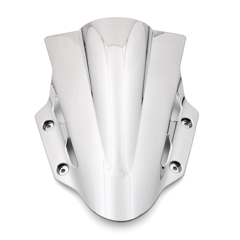 Artudatch Pare-brise de moto double bulle pour S-U-Z-U-K-I GSX 250R 2017