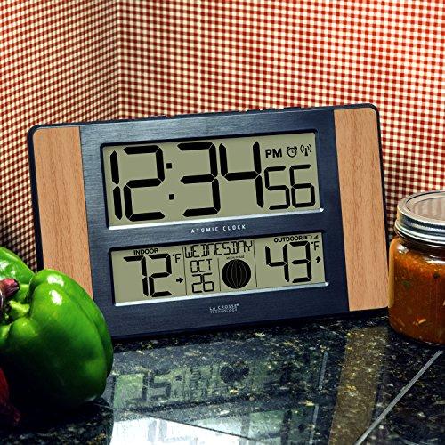 La Crosse Atomic Digital Clock with Outdoor