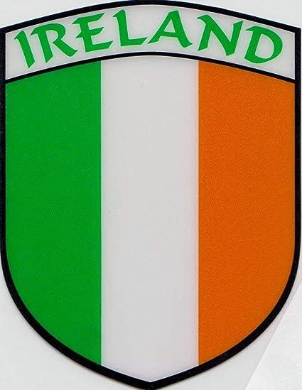 Ireland Irish Connaught Leinster Munster and Ulster Flag Vinyl Car Window Sticker