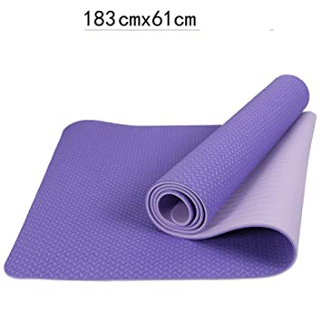Baibian Suministros de Pilates Estera de Yoga Antideslizante ...