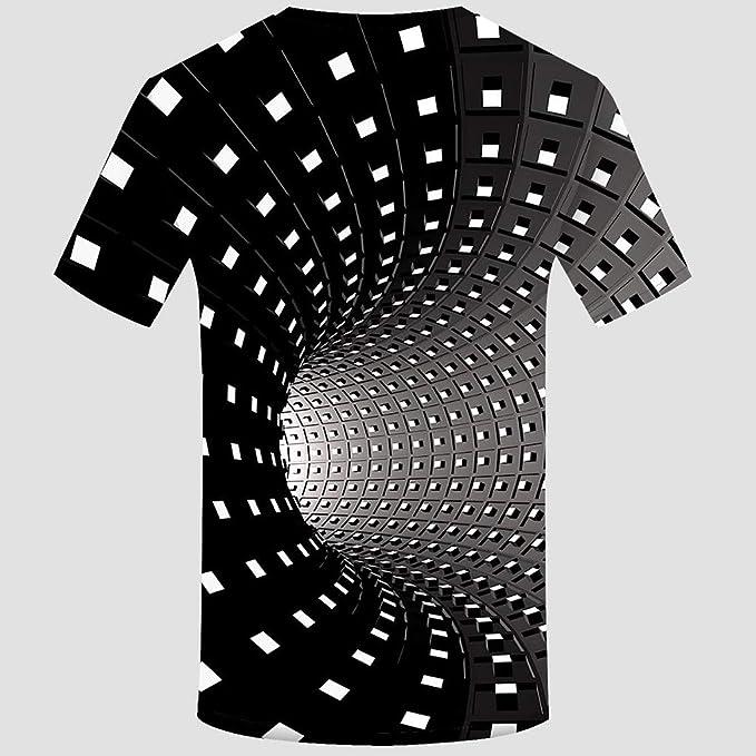 Overdose Camisetas Hombres Camisa De Manga Corta con Cuello ...