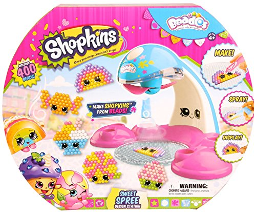 Beados Shopkins Season 3 Sweet Spreee Design (Quick Halloween Craft)