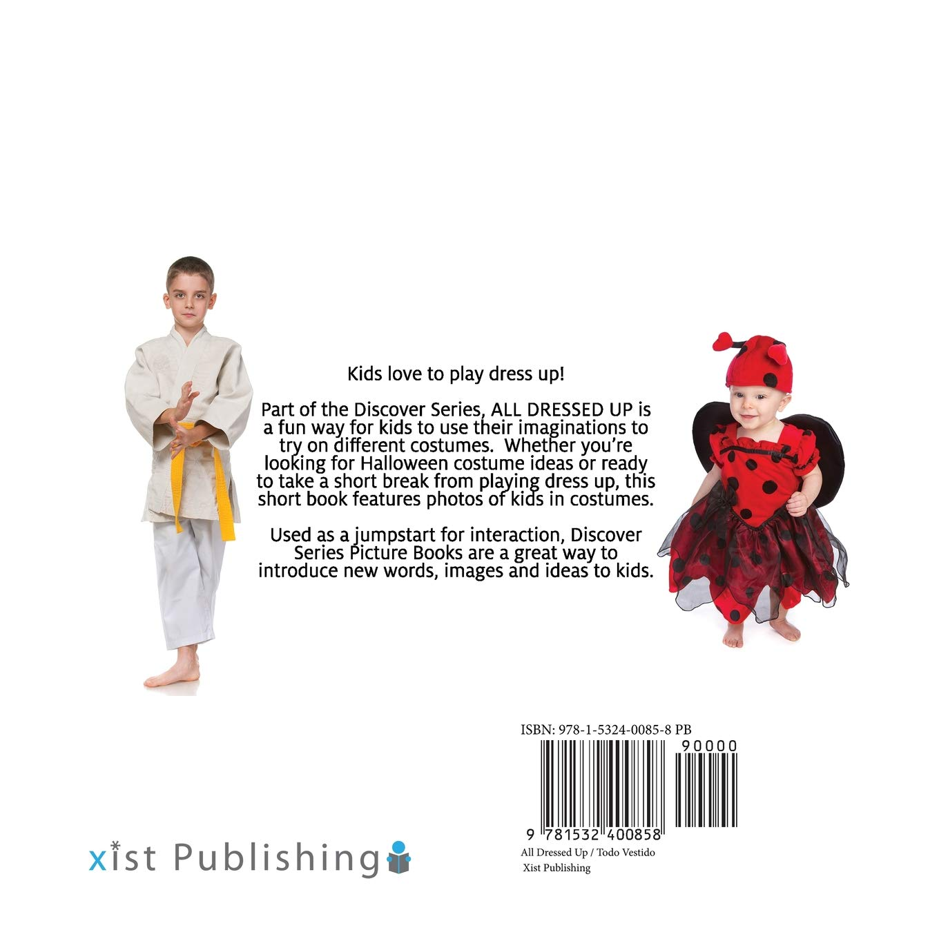 Todo Vestido/All Dressed Up (Xist Kids Bilingual Spanish English): Xist Publishing: 9781532400858: Amazon.com: Books
