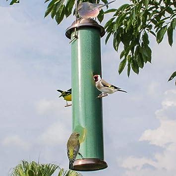 RZiioo El comedero para pájaros Silvestres atrae más pájaros, comederos para pájaros pequeños y medianos, decoración de Jardines: Amazon.es: Deportes y aire libre