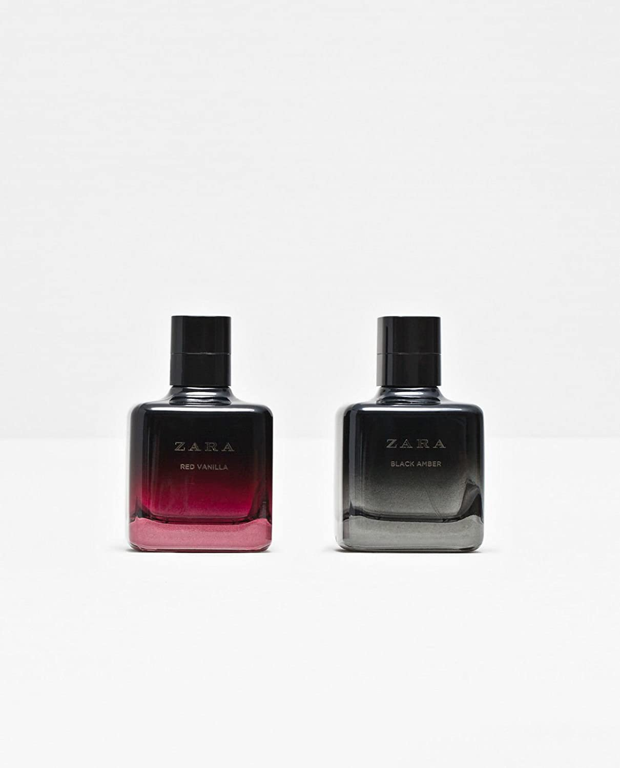 Amazon.com  Zara Two Bottles Women RED Vanilla   Black Amber Set EAU DE  TOILTETTE Spray Fragrance  Home   Kitchen db861a63228b
