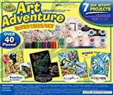 Royal and Langnickel Art Adventure Super Value Kit, 40-Piece, Yellow