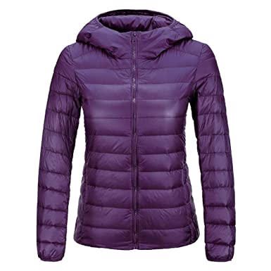 Dihope Damen Winter Daunenjacke Ultra Leicht Steppmantel