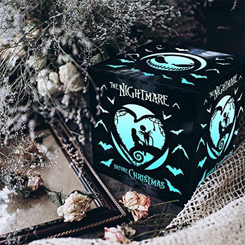Remote Control Nightlight,Vinyl Record Light Box,Halloween Gift,The Nightmare Before Christmas,Night Light For Kids,Scary Box,Disney Cartoon,The Nightmare Before Christmas Gift,Night (Modern Halloween Songs 2017)