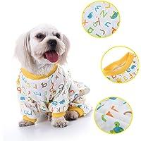 awhao Pijamas del algodón del patrón de la