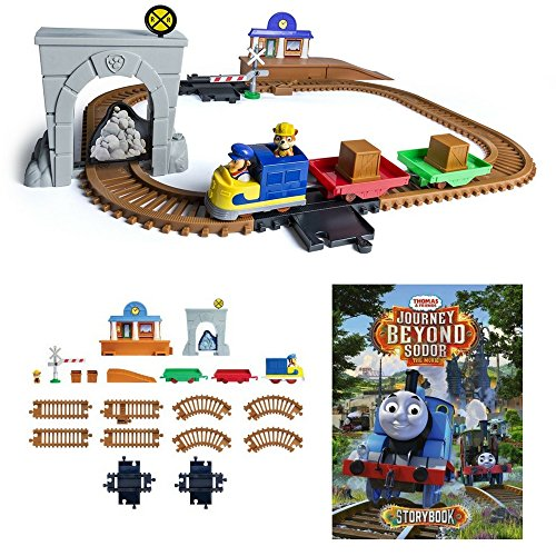 Rubble's Adventure Bay Railway Mission And Thomas & Friends Journey Beyond Sodor Hardcover, Kids Play Vehicles & Books, Pretend Play, Reading, Early Learning Activity, Fun Classic Train Play & Story! (Thomas Friends & Bay Sodor)