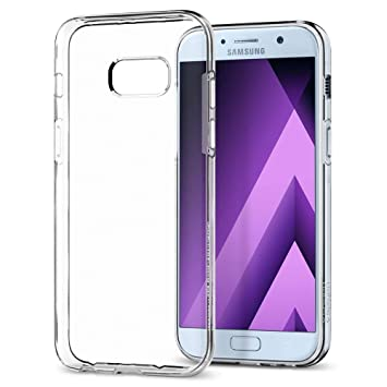 the latest 26c43 54bb3 Spigen [Liquid Crystal [Crystal Clear] Case for Galaxy A5 2017, Flexible  TPU Transparent Slim Protection Phone Cover for Galaxy A5 2017 Case - ...