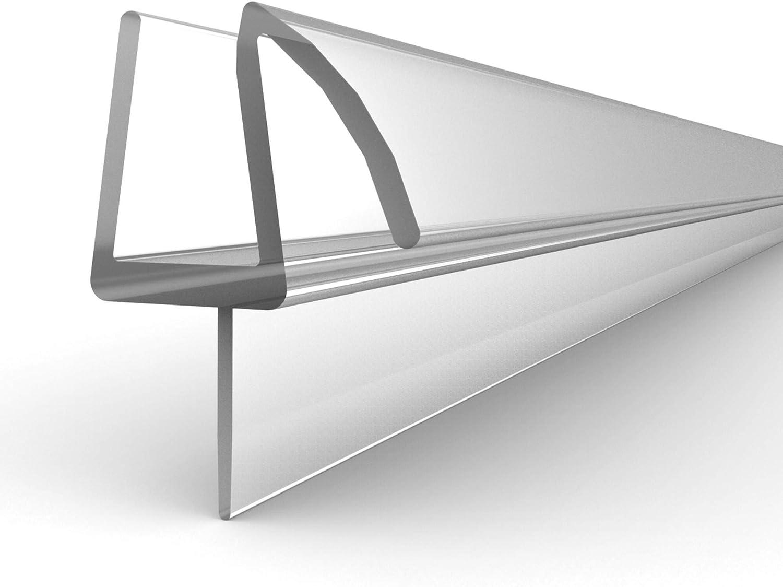 Basco ECSCV351-38 - Barrido de vinilo para mampara de ducha, transparente: Amazon.es: Bricolaje y herramientas