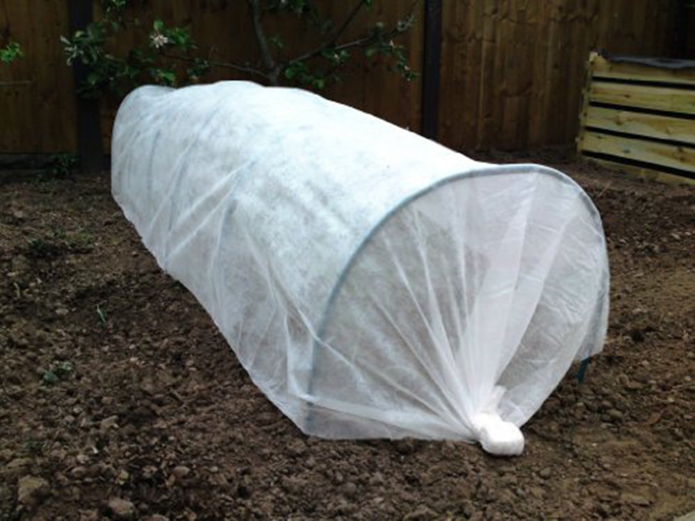 Apollo Fleece Growing Tunnel 1x 3.5m Garden Allotment / Seeds / Plants / Frost