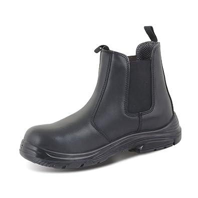 Click Footwear Safety Chelsea Dealer Work Boots Black CF16 Sizes 3-13 (UK 3 9f69c22c1f87