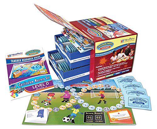 NewPath Learning 4 Piece Curriculum Mastery (ELA, Math & Science) Game Set, Grade 4, Class-Pack by New Path Learning
