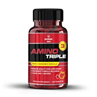 Nutritech Labs- Amino Acid Complex Supplement- Advanced 3 Ingredient formula including l Arginine, l lysine & l Ornithine - Essential amino acid- Helps Prevent Muscle Loss & Reduce Fatigue- 120 amino acid tablets (up to 120 Servings)