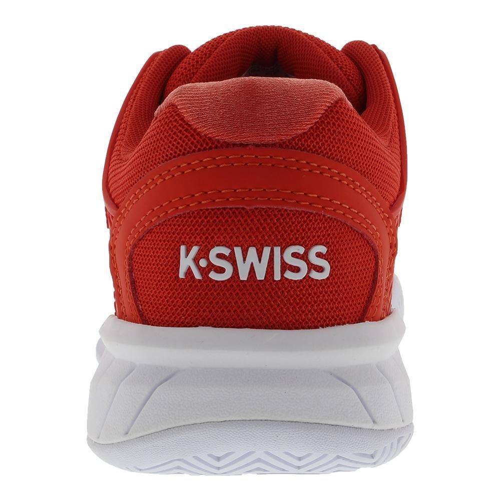 K-Swiss Women's Hypercourt Express Tennis Shoe B0794521N4 7.5 B(M) US|Fiesta/White