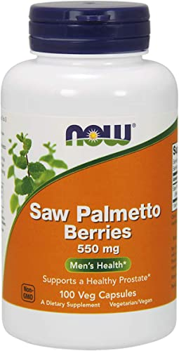 Now Foods Saw Palmetto 550mg 100 Vcaps
