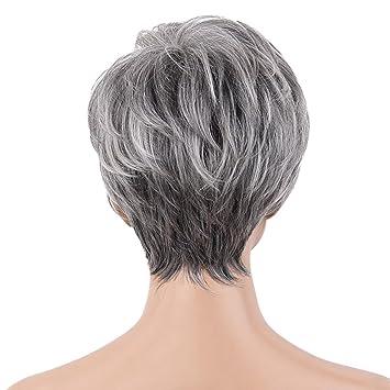Amazon com: SM SunniMix Chic Short Wigs For Women Human Hair