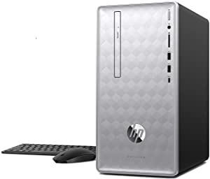 HP Pavilion 590-P0070 Intel Core i7-8700 6-Core 12GB 1TB HDD Win 10 Desktop PC (Renewed)