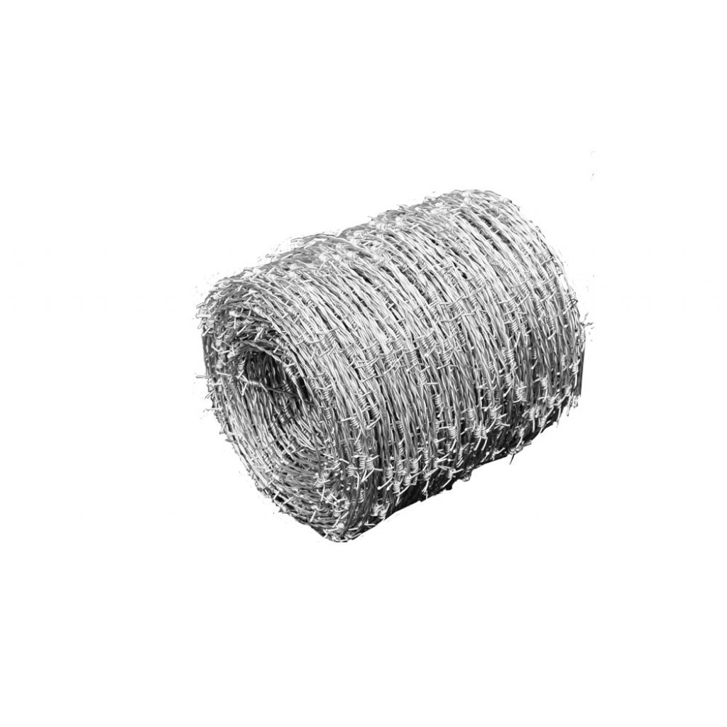 500m vidaXL Barbed Wire Roll Steel 500m 1.5mm High Tensile Outdoor Garden Fence