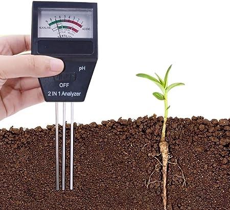 Douup Analizador De Fertilidad Y pH De Suelo 2 En 1, Kit De Prueba De Suelo