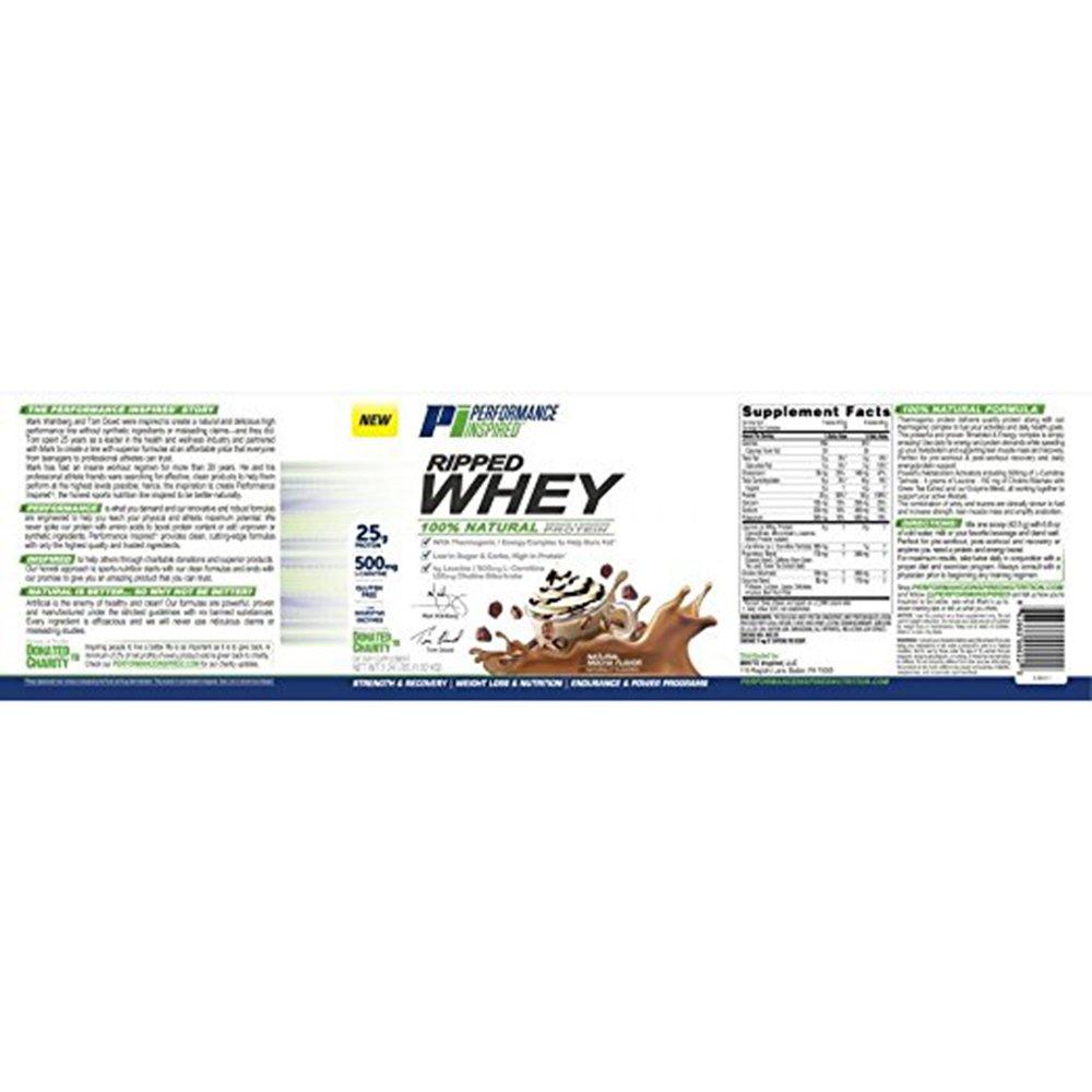 Inspirado en el rendimiento, Nutrición Ripped Whey Protein ...