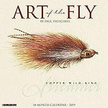 Art of the Fly 2019 Wall Calendar