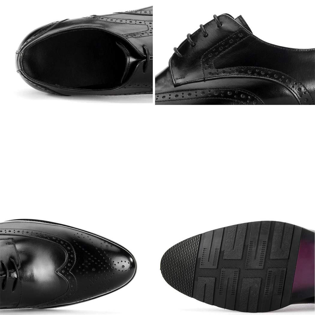 Zxcvb Herbst und Winter Herren Leder Wildleder Retro England Brock Carved England Retro Trend Schuhe Herren Freizeitschuhe 910d94