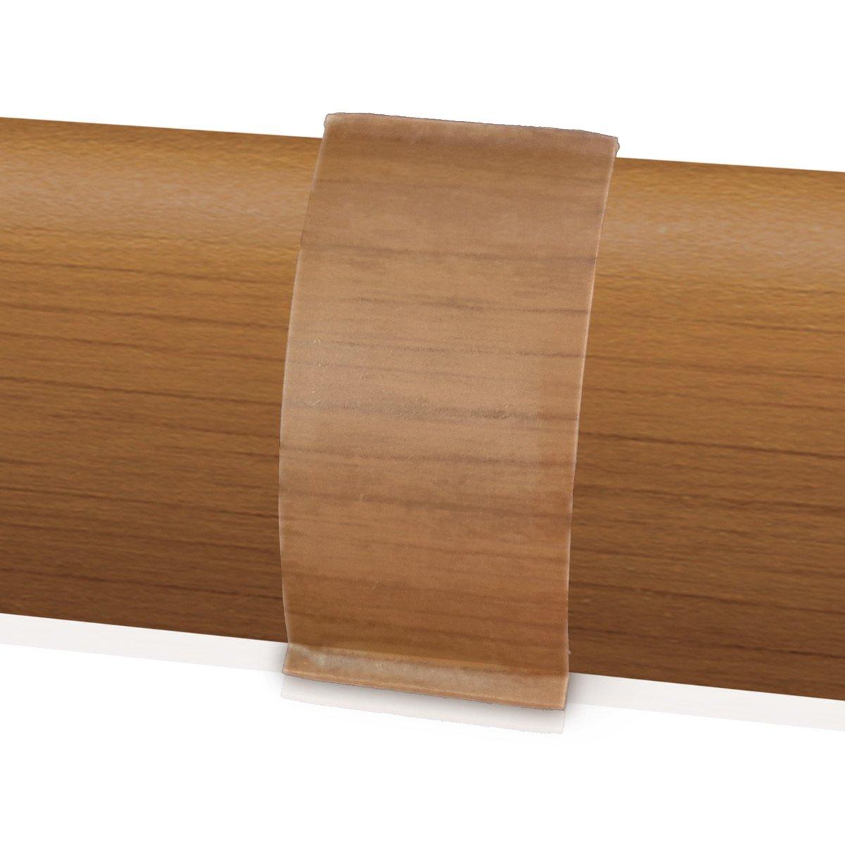 1 links, 1 rechts f/ür Kabelkanal Sockelleiste in ALU Dekor 1 Paar Endkappen