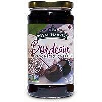 Royal Harvest Bordeaux Maraschino Cherries, 13.5 Ounce