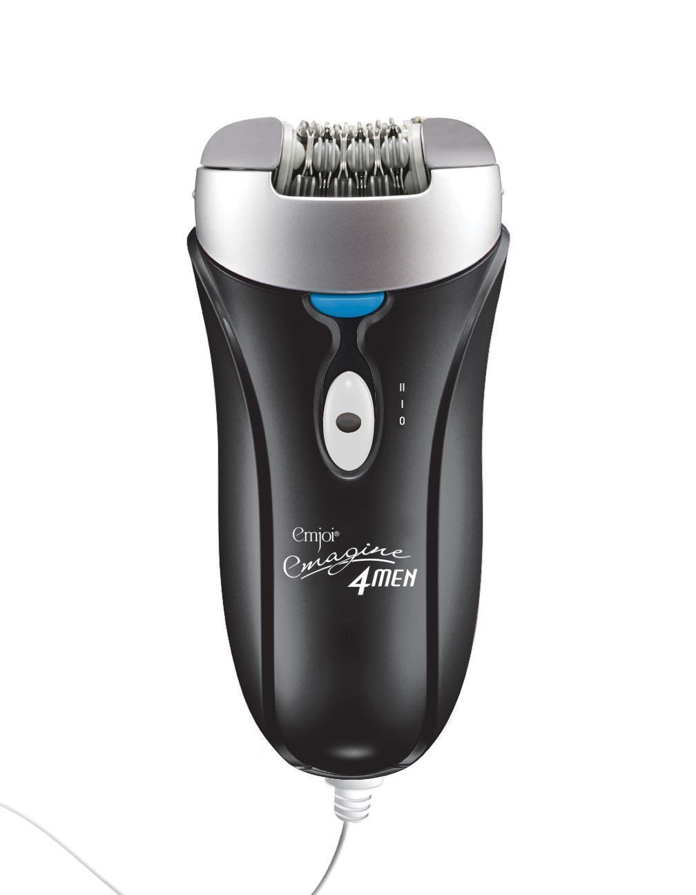 Emjoi AP-18MS Emagine Epilator for Men, Black EMJ-AP-18MS