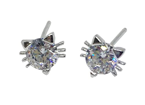 7fb3c2f094bb6 Amazon.com: IGOOS' 18k White Gold Plated Swarovski Crystal Zircon ...