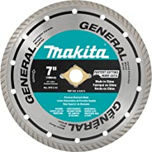 Makita A-94574 7-Inch Turbo Rim Diamond Masonry Blade