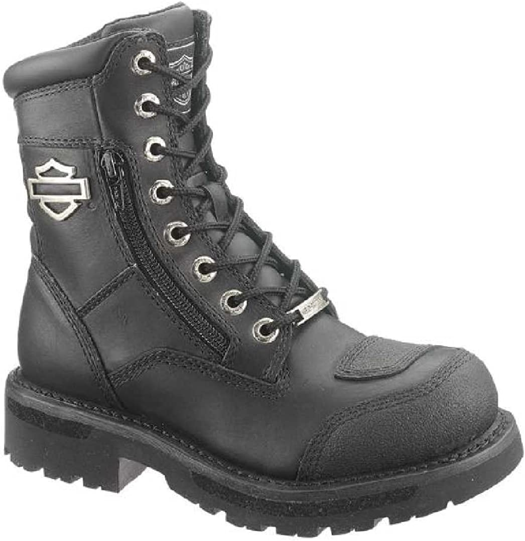 Harley-Davidson Womens Sydney 6-Inch Leather Motorcycle Boots D87005