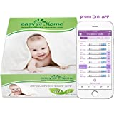 Ovulation Test Strips Powered by Premom Ovulation Predictor APP, FSA Eligible, 40 Ovulation Test and 10 Pregnancy Test Strips