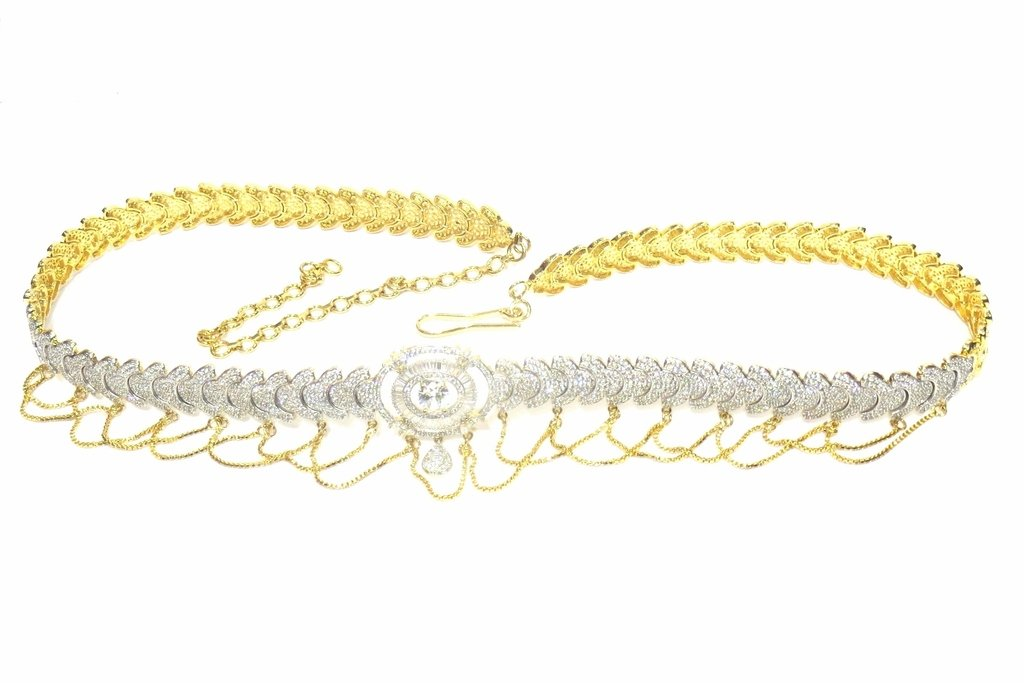 Jewelshingar Jewellery Stylish Waistchain For Women ( 24433-waistchain-ad )