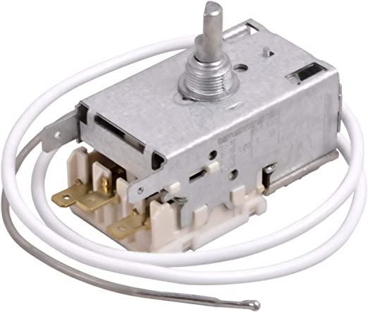Termostato de repuesto para Liebherr 6151097 Ranco K59-L2622 Miele 1677710 3 x 4,8 mm AMP para frigorífico/congelador, regulador de temperatura de repuesto: Amazon.es: Hogar